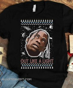 La flame out like a light rapper ugly christmas sweater