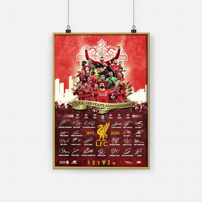 Liverpool fc you'll never walk alone poster 3