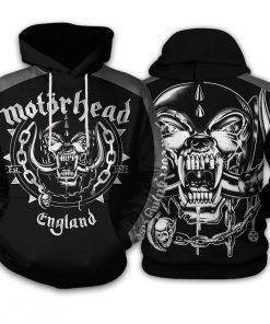 Motorhead all over printed hoodie