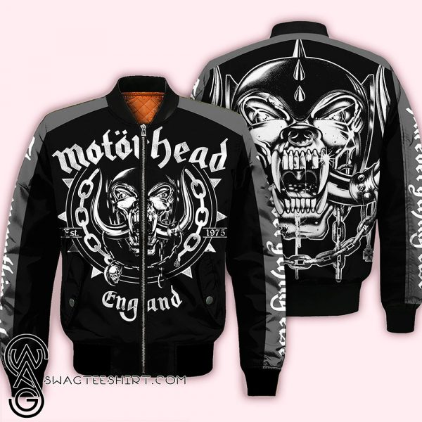 Motorhead all over printed shirt