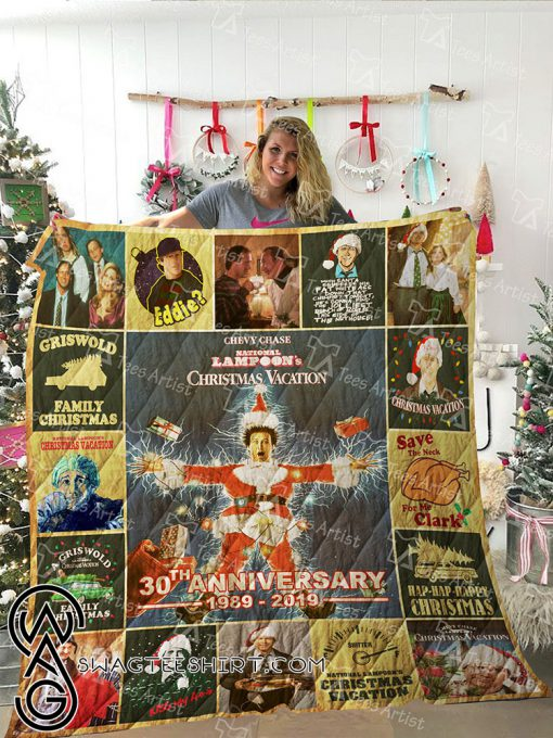 National lampoon's christmas vacation 30th anniversary quilt
