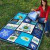 No plastic save turtles quilt