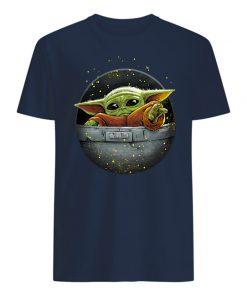 Star wars the mandalorian the child baby yoda mens shirt