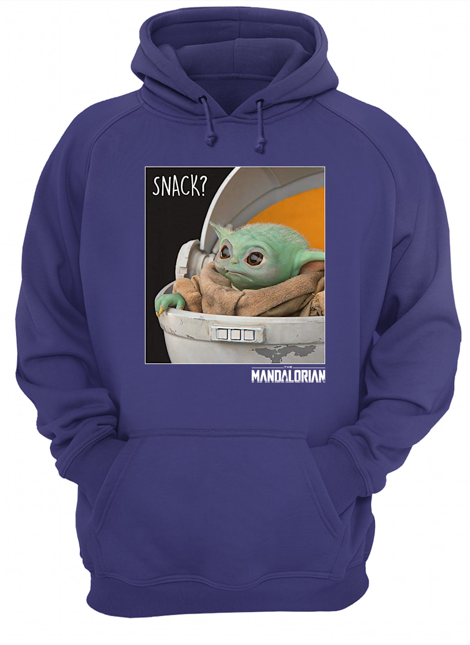 Star wars the mandalorian the child snack time hoodie