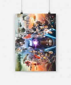 Star wars the rise of skywalker poster 1