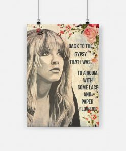 Stevie nicks back to the gypsy that i was poster 1
