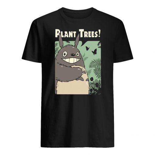 Totoro studio ghibli plant trees mens shirt