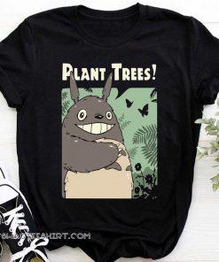 Totoro studio ghibli plant trees shirt