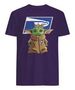 United states postal service baby yoda mens shirt