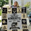 Army black knights quilt