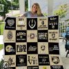 Army west point black knights quilt