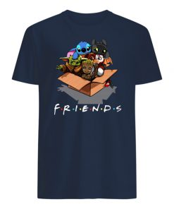 Baby yoda gizmo groot stitch and toothless mens shirt