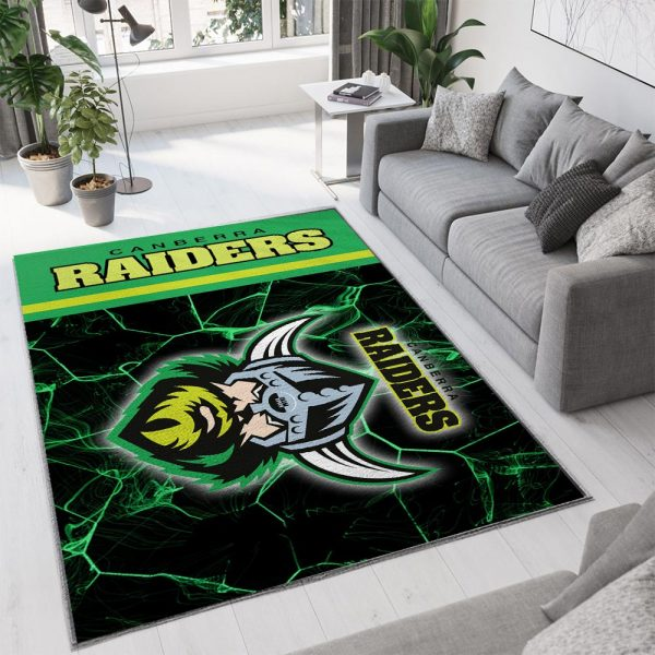 Canberra raiders all over print rug 3