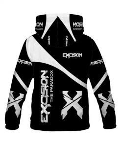 Excision the paradox all over print hoodie 2