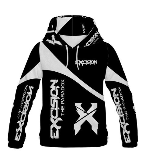Excision the paradox all over print hoodie
