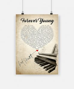 Forever young may the good lord be with you rod stewart poster 1