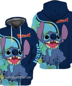 Lilo and stitch full over print shirt