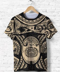 Maui polynesian tattoo all over print tshirt