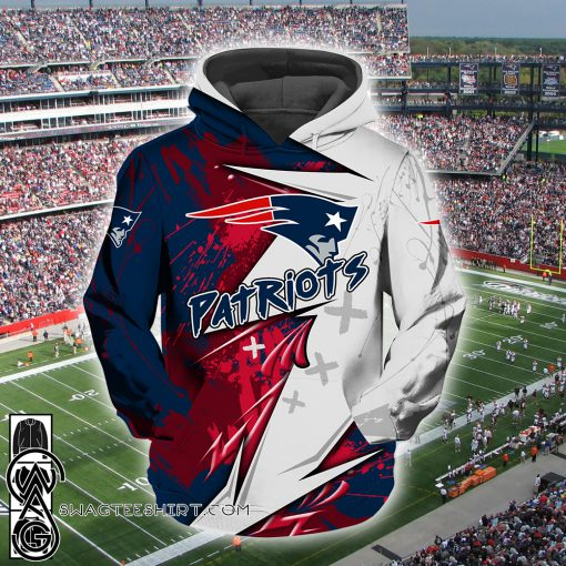 NFL new england patriots all over printed shirt
