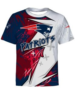 NFL new england patriots all over printed tshirt