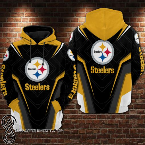 NFL pittsburgh steelers all over printed shirt