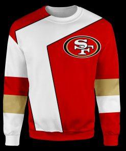 NFL san francisco 49ers full over print sweatshirt