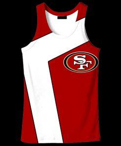 NFL san francisco 49ers full over print tank top