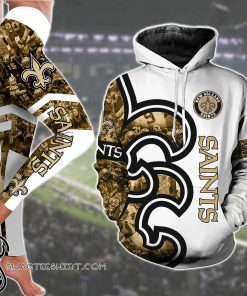 New orleans saints all over printed shirt