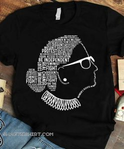 Notorious rbg ruth bader ginsburg quotes feminist shirt