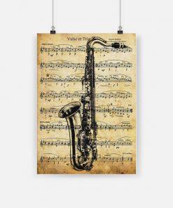 Saxophone valse et trio poster 4