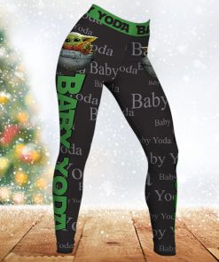 Star wars baby yoda all over printed legging