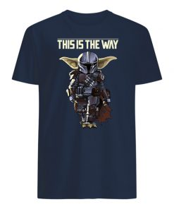 Star wars the mandalorian dark portrait mens shirt