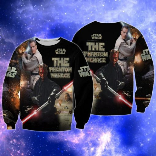 Star wars the phantom menace full over print sweatshirt