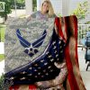 US air force all over printed quilt