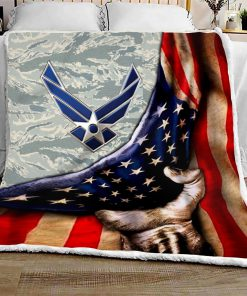 US air force all over printed quilt 4
