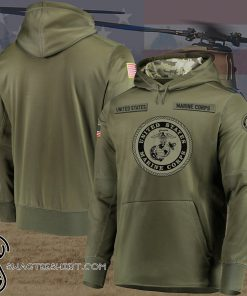 US marrine et camo style full printing shirt