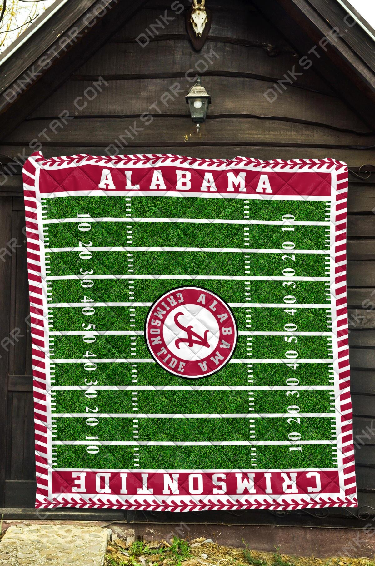 Alabama crimson tide football quilt 1
