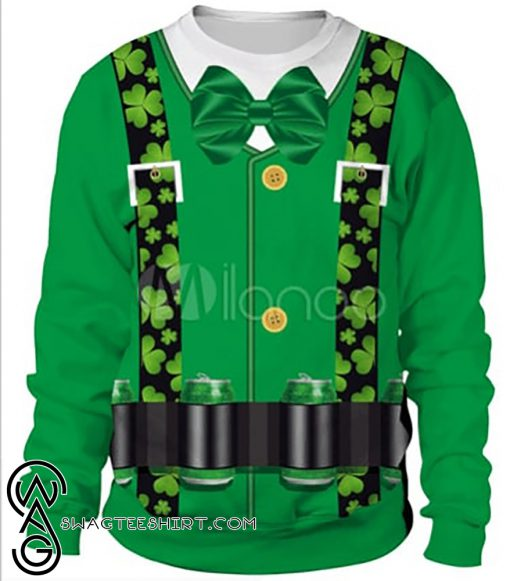 Beer saint patrick's day all over print shirt