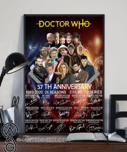 Doctor who 57th anniversary poster