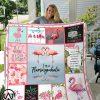 I'm a flamingo blanket