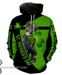 Irish saint patrick's day groot full printing shirt copy