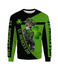 Irish saint patrick's day groot full printing sweatshirt