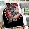 Odin viking raven full printing blanket
