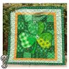 Saint patrick's day full printing quilt