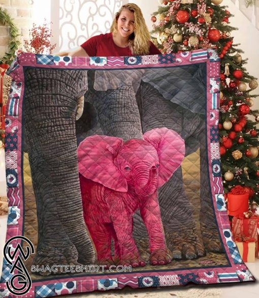 Save the elephant quilt
