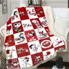 Snoopy washington nationals full printing blanket