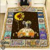 Sunflower hippie you are my sunshine camping quilt