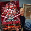Super bowl champions kansas city chiefs poster