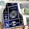 Viking God odin blanket