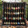 Vintage guitar quilt